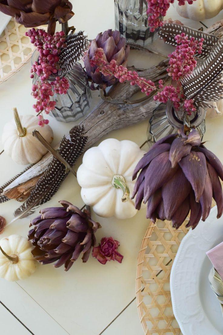 Mein Esszimmer und Tischdeko im Herbst #tischdekoherbstesstisch