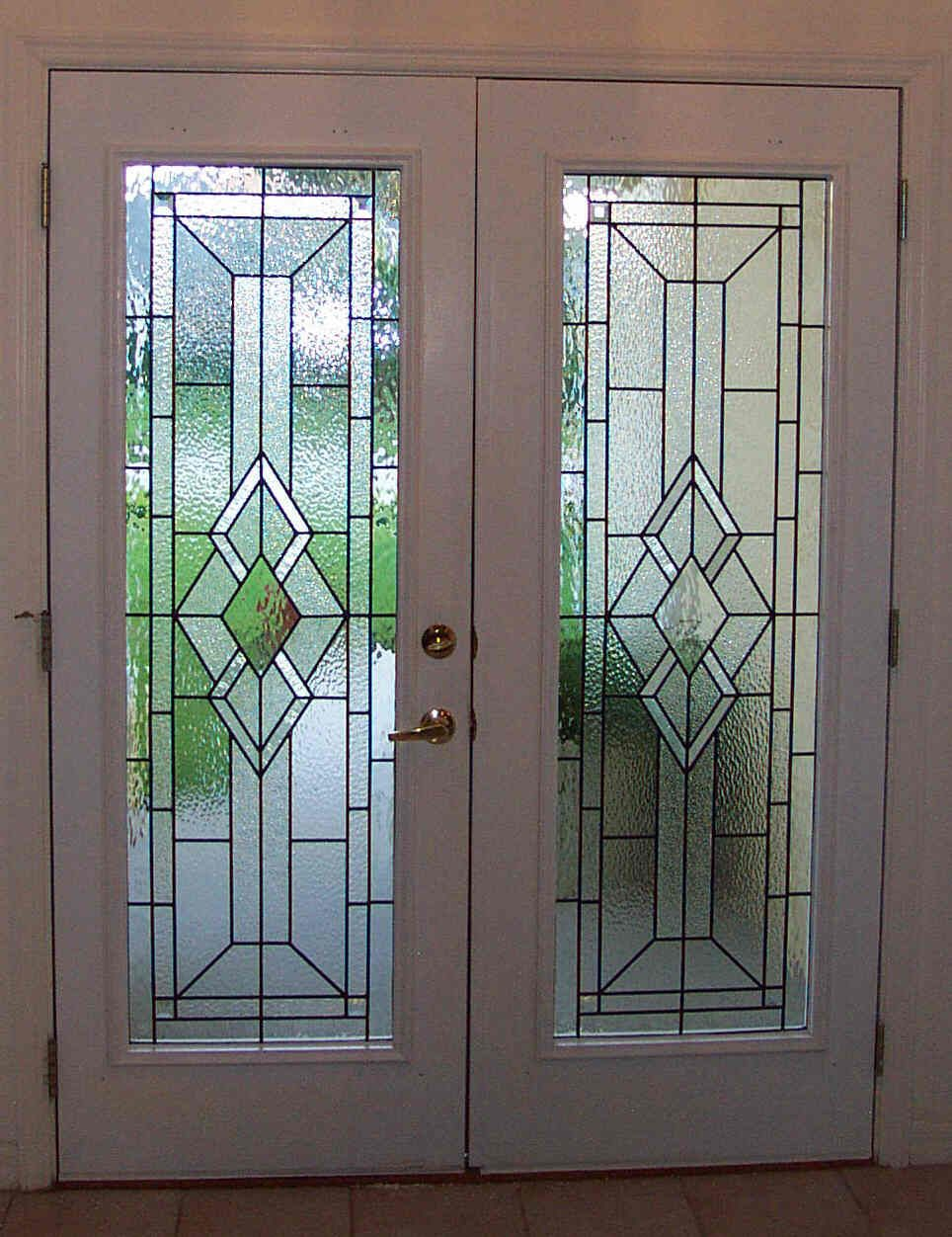 Custom Glass For Front Entry Doors Made By Designer Art Glass