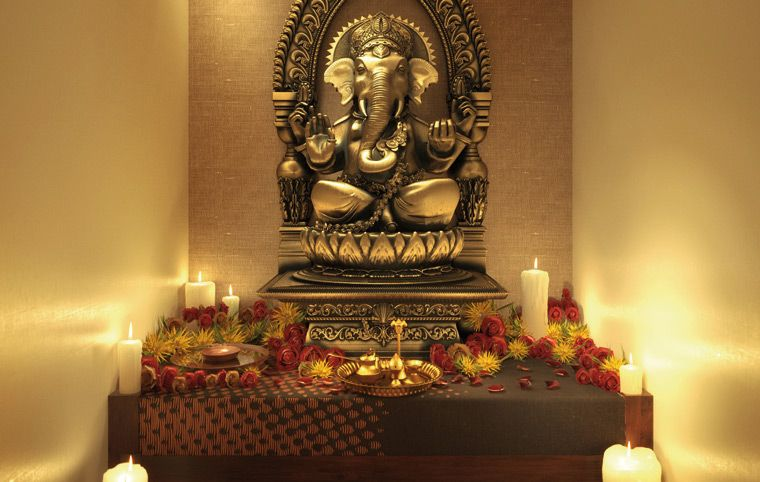 Charming Hindu Prayer Room Design Ideas Part - 14: Pooja Room Designs Ideas That Are Are Pocket Friendly, Simple And Easy. Pooja  Room Is An Integral Part Of Your Home And These Design Ideas Make It  Pleasant.