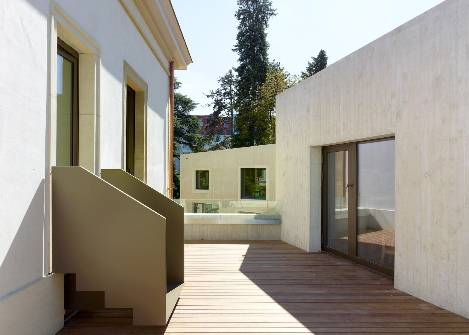 Swiss architects Omar Trinca and Guillaume Vallotton have ...