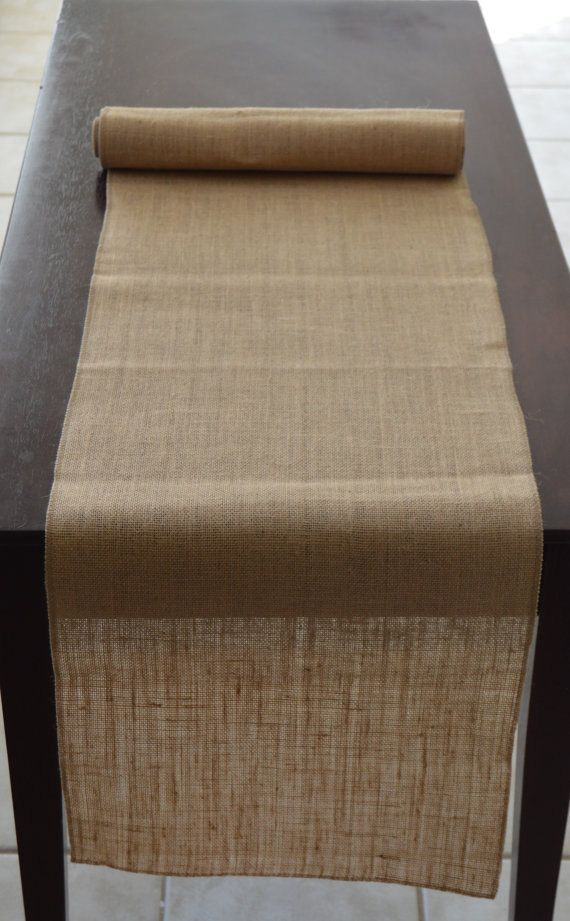 Wonderful 120 Inches Long X 12 Wide: Burlap Table Runners: These Burlap Table Runners  Fit