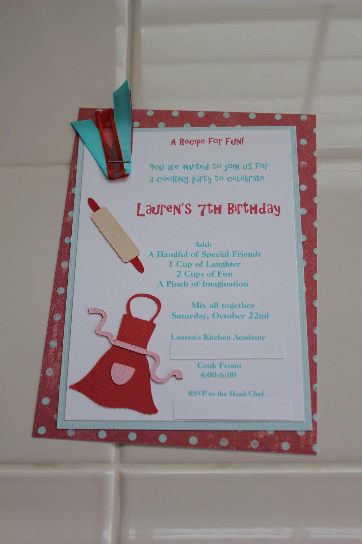 free printable funny0th birthday invitations%0A Cooking and Baking FREE Printable Birthday Party Invitations   Birthday  Party Invitations  FREE Printables   Pinterest   Party invitations and  Birthdays