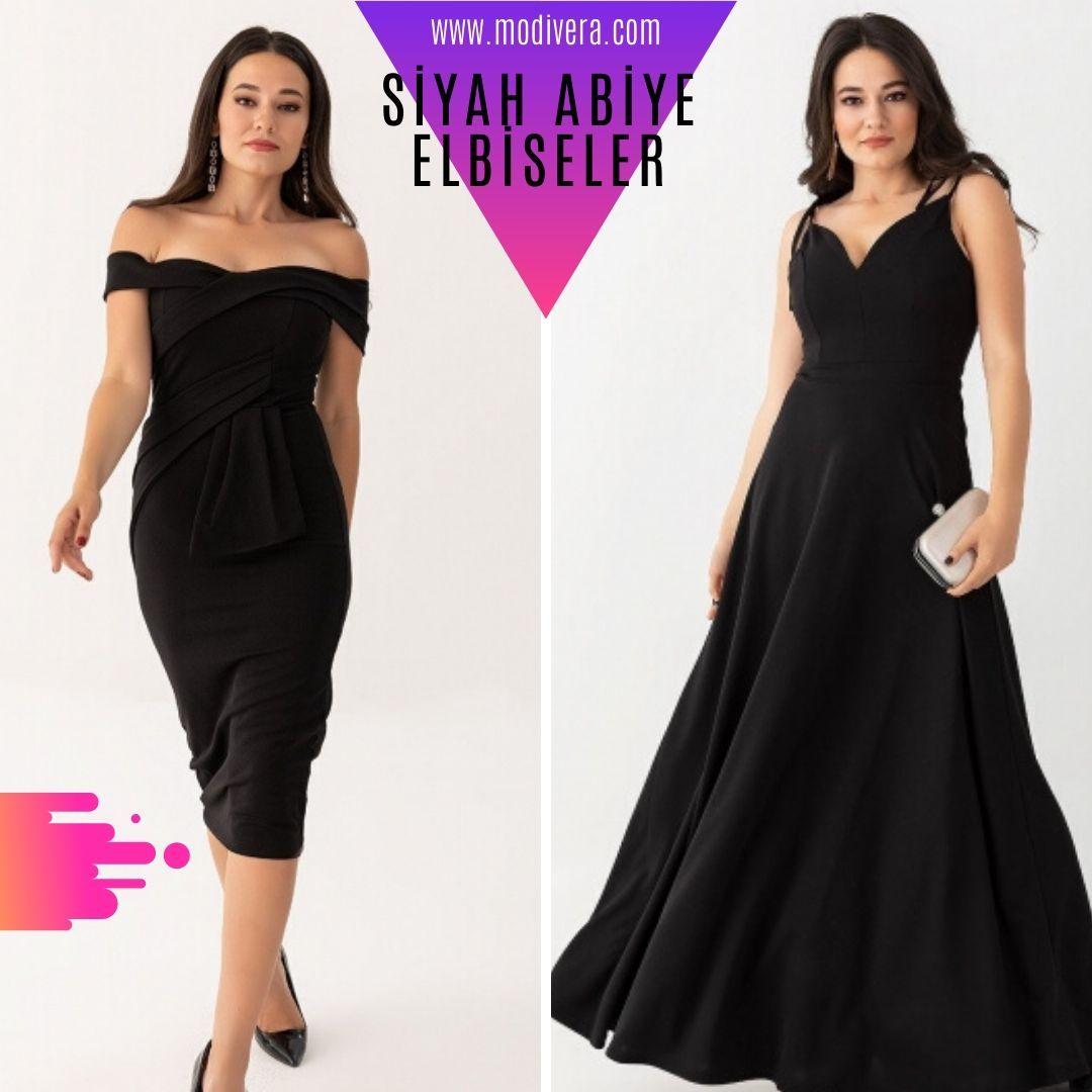 Siyah Abiye Elbise Ucuz Giyim Www Modivera Com Da 2020 Elbiseler Siyah Abiye Elbise