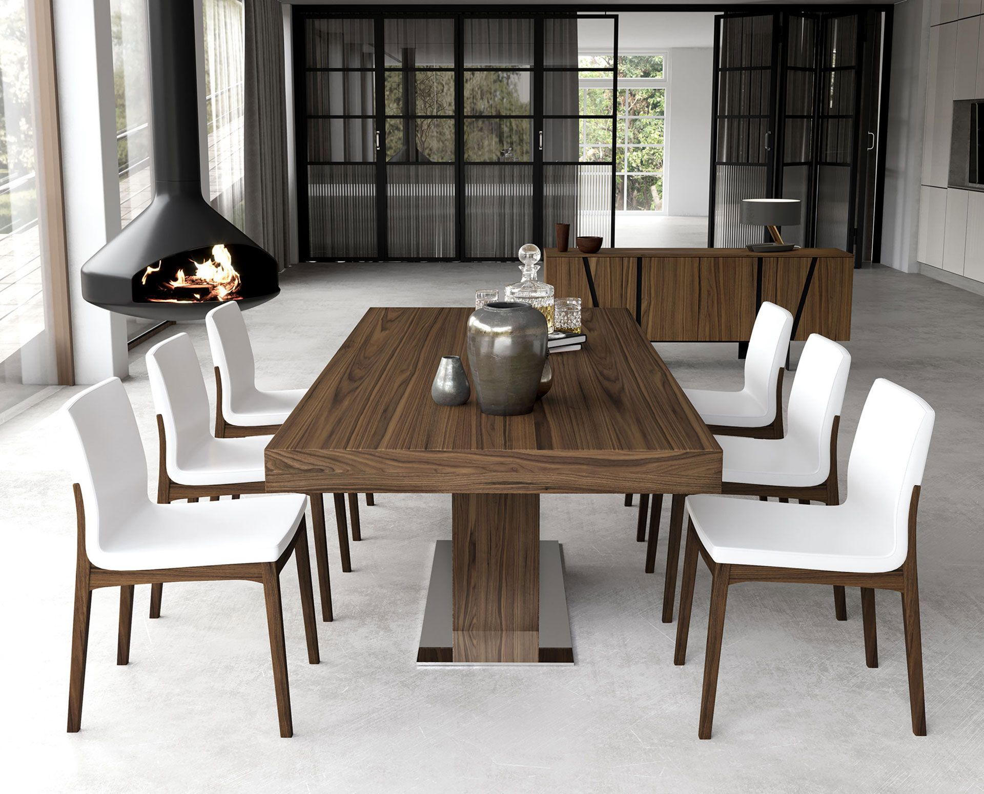 The Astor Extendable Dining Table Is The Perfect Solution For
