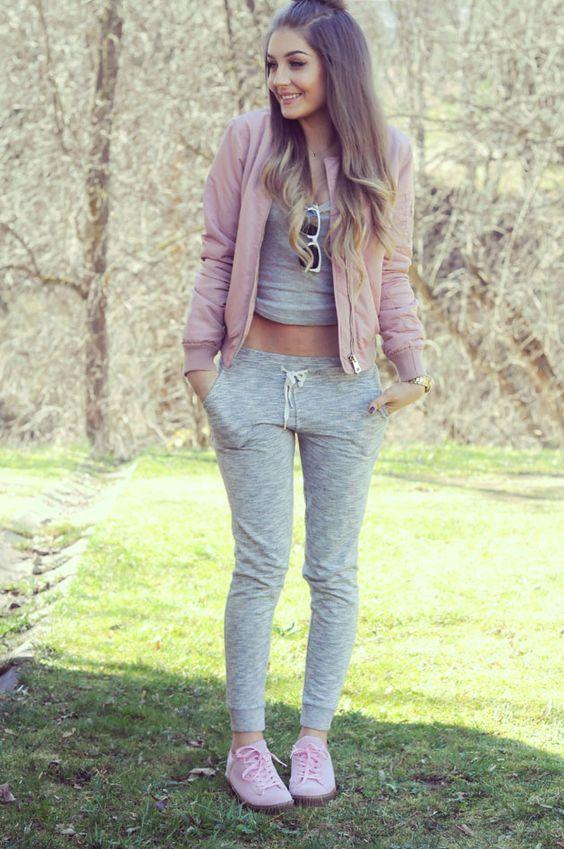 Outfits grises que son  lo más  para estos días de frío irreal ... 5c423d665b46
