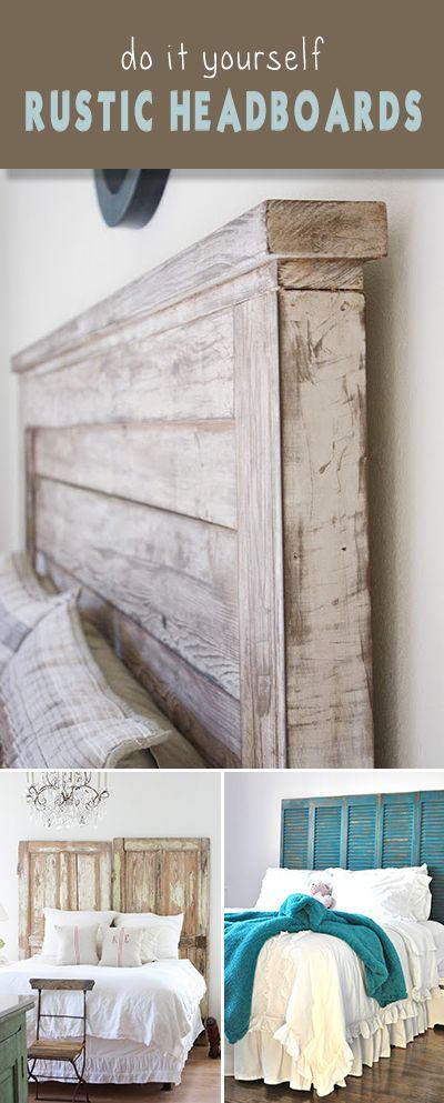 diy rustique t tes de lit un tour dhorizon des id es merveilleuses et des projets avec des. Black Bedroom Furniture Sets. Home Design Ideas
