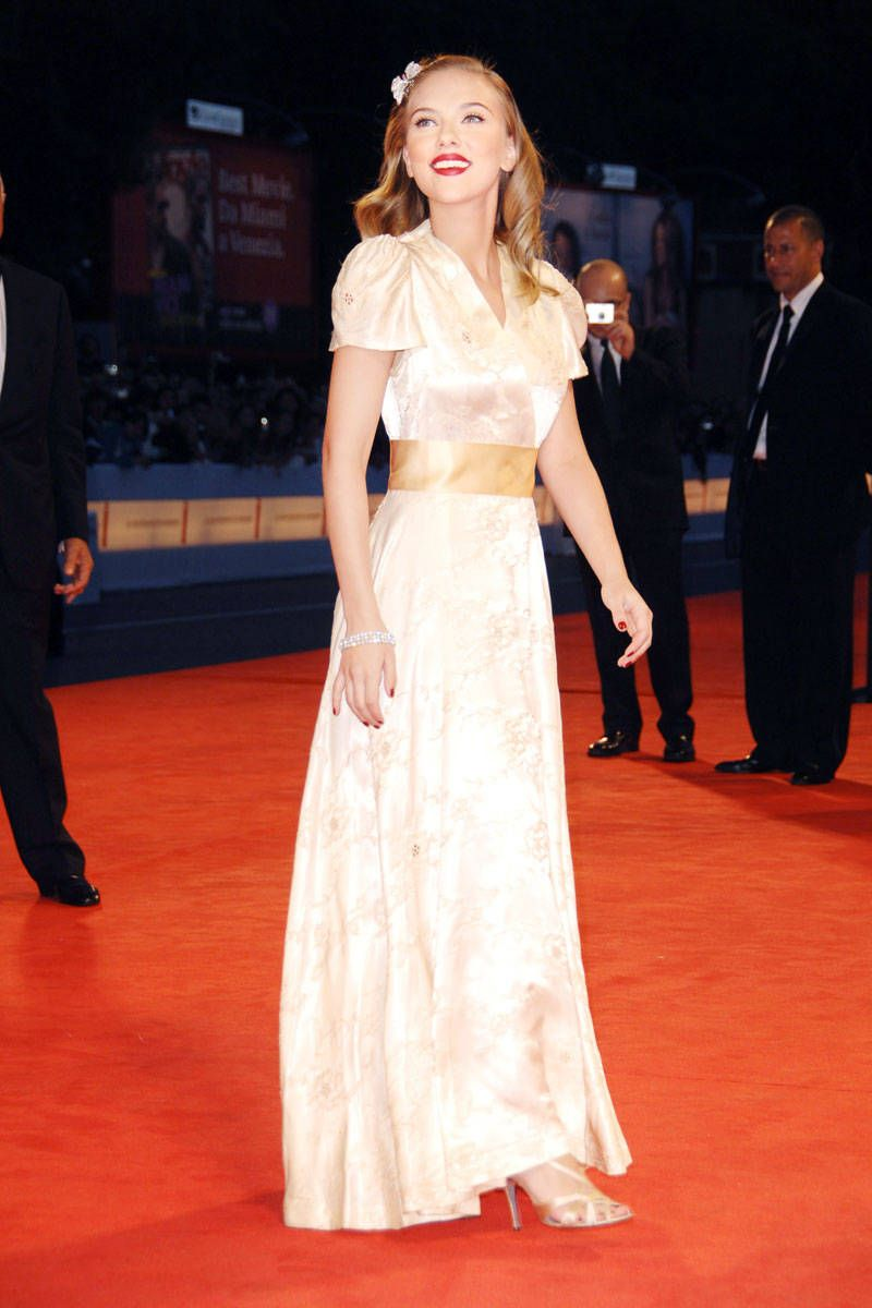 844f766f825659 Scarlett Johansson In vintage at the Venice International Film Festival