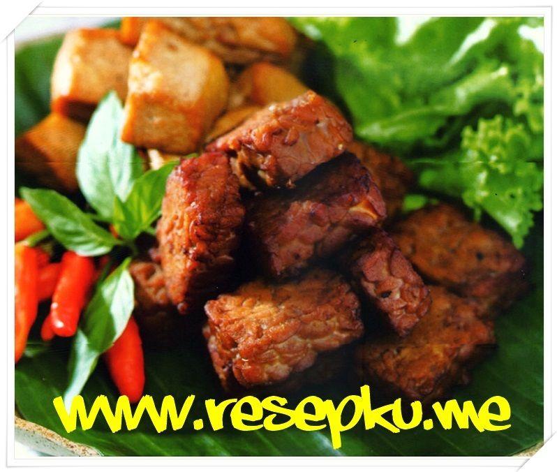 Resep Tempe Bacem Jogja Gurih Dan Enak Resep Tempe Resep Masakan Masakan