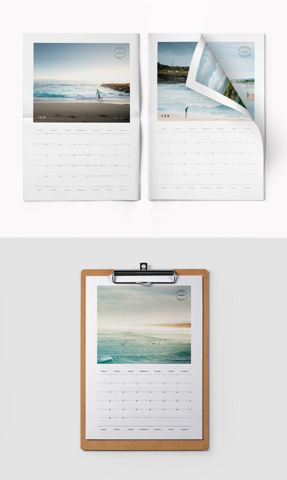Indesign Calendar 2018 \u2013 2018 Calendar Template