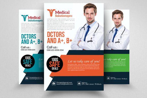 medical doctor flyer template creativework247 メディカル flyer
