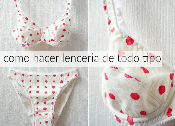 d94a12d0c9f8 Como hacer Ropa Interior con Pañuelos Lenceria | Costura | Sewing ...