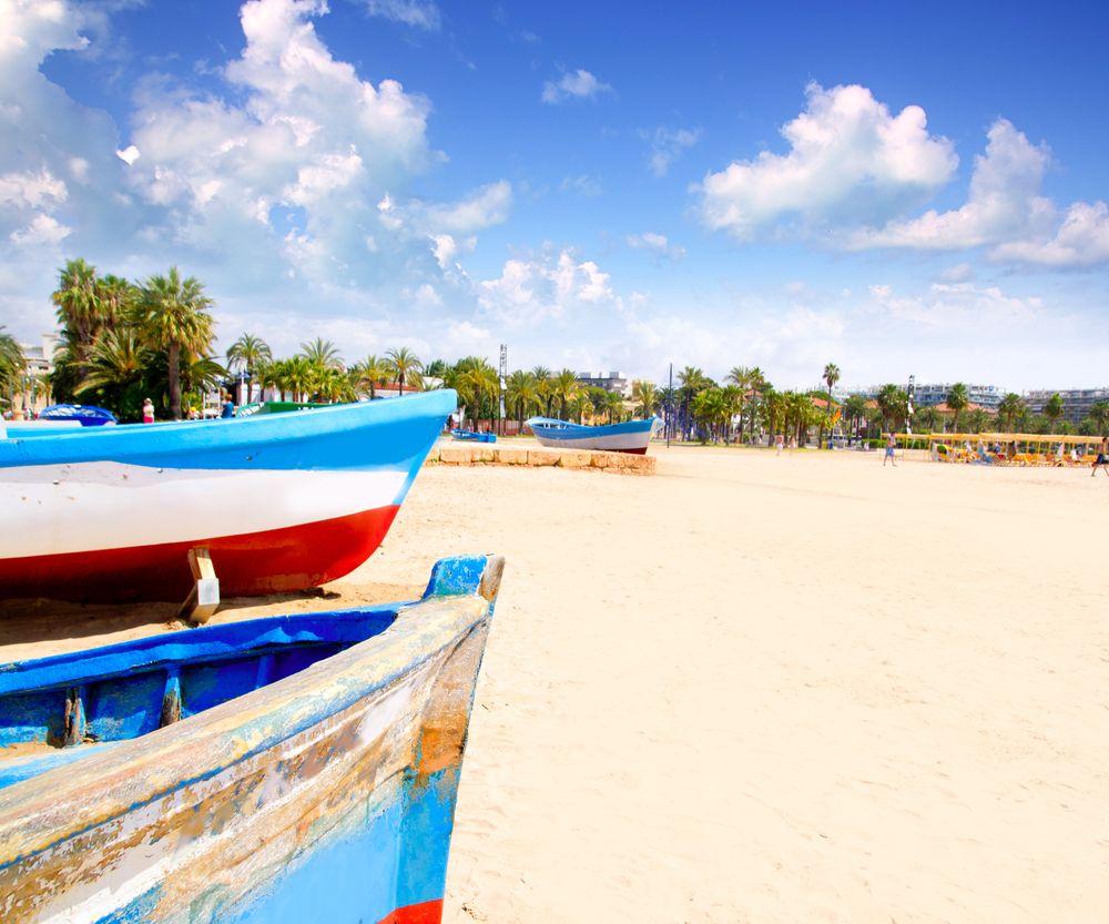Salou main beach