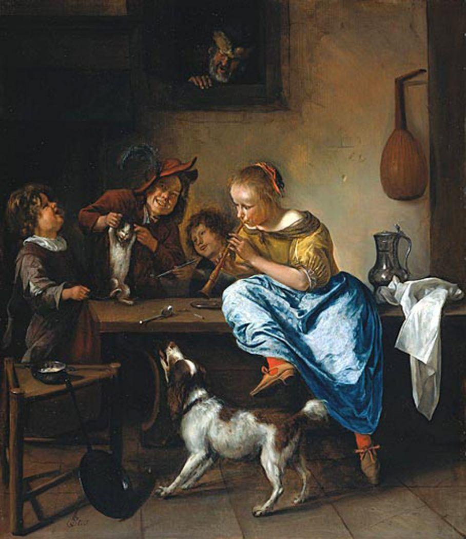 Jan Steen 1626 1679 Dutch Baroque Painting Fine Arts Posters Art History