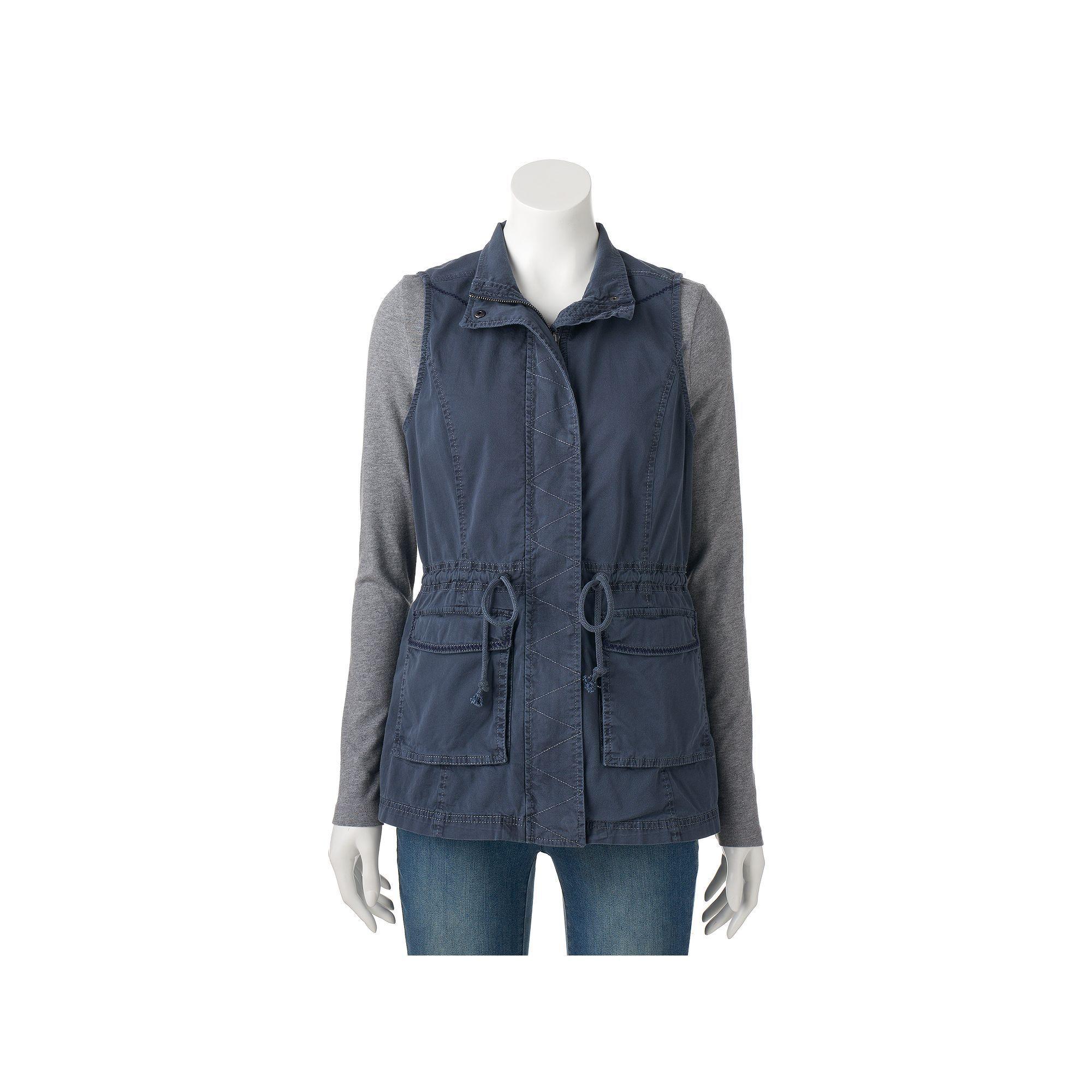 "201019a842783 Women s SONOMA Goods for Lifeâ""¢ Utility Vest"