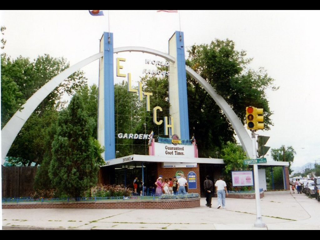 The Original And Still Best Elitch Gardens On 38th And Tennyson I Worked Kiddie Land Here While In School Denver City Colorado Style Colorado