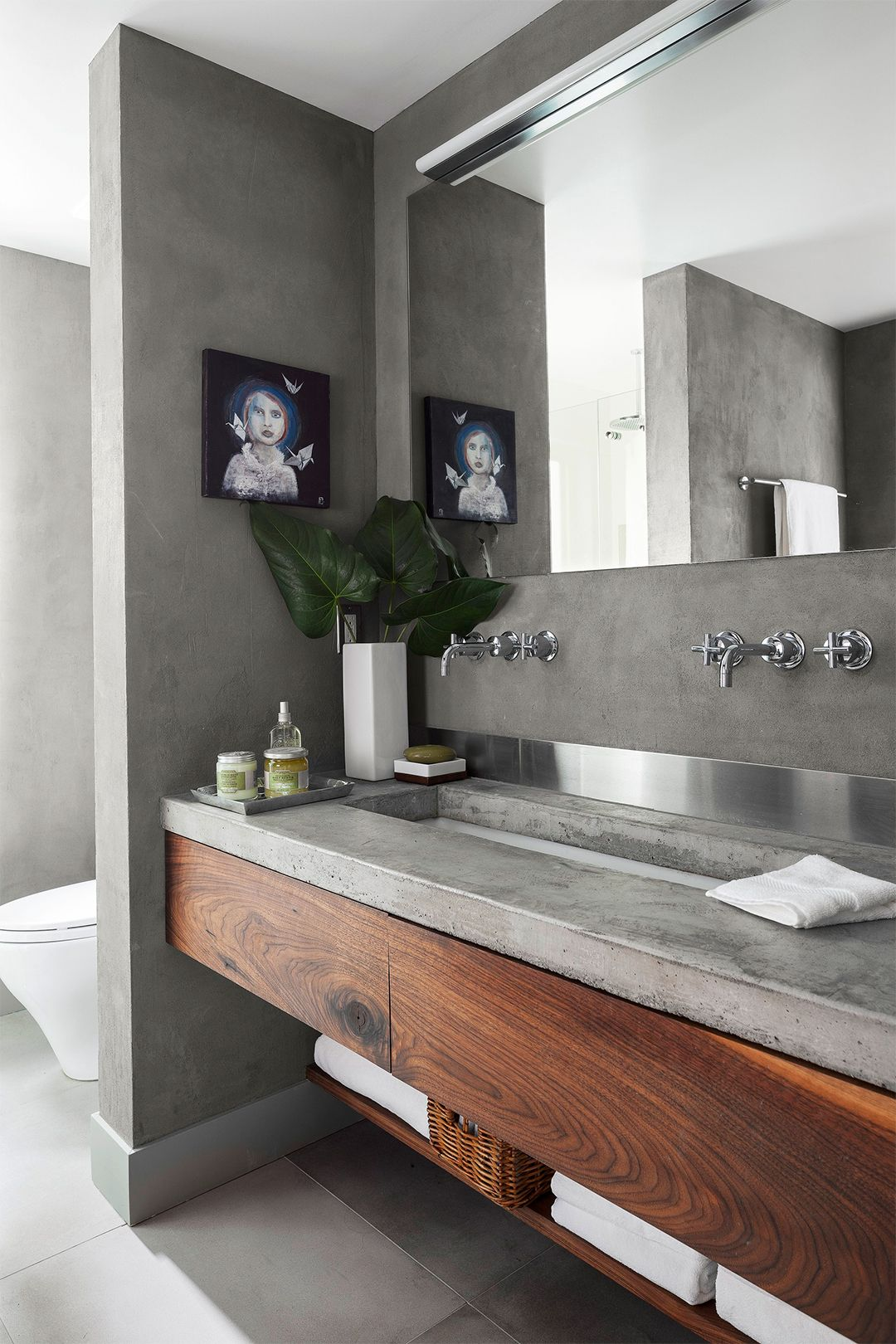 how to remove countertop from vanity