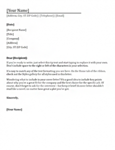 Cover Letter Template Nz Cover Letter Template Cover Letter For