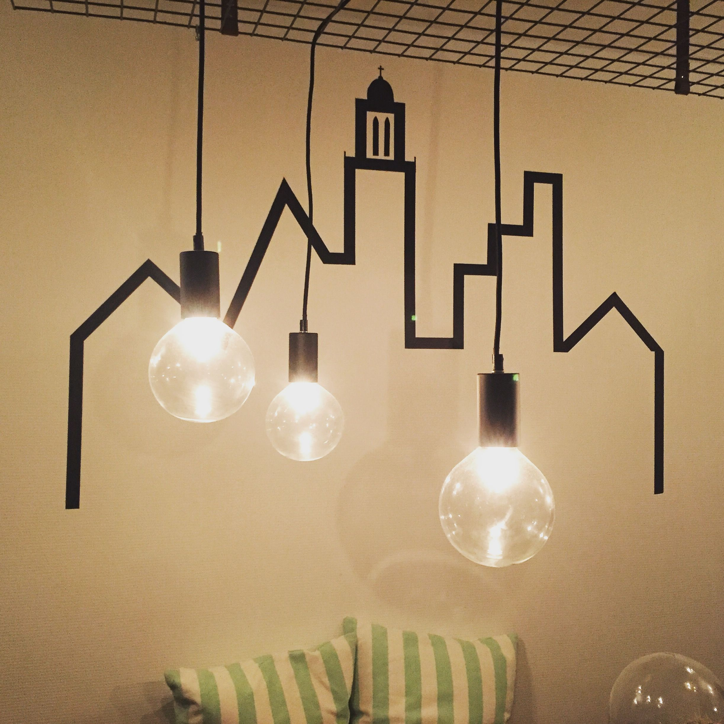 Decorating decoration wall washitape washi tape black and white DIY ...