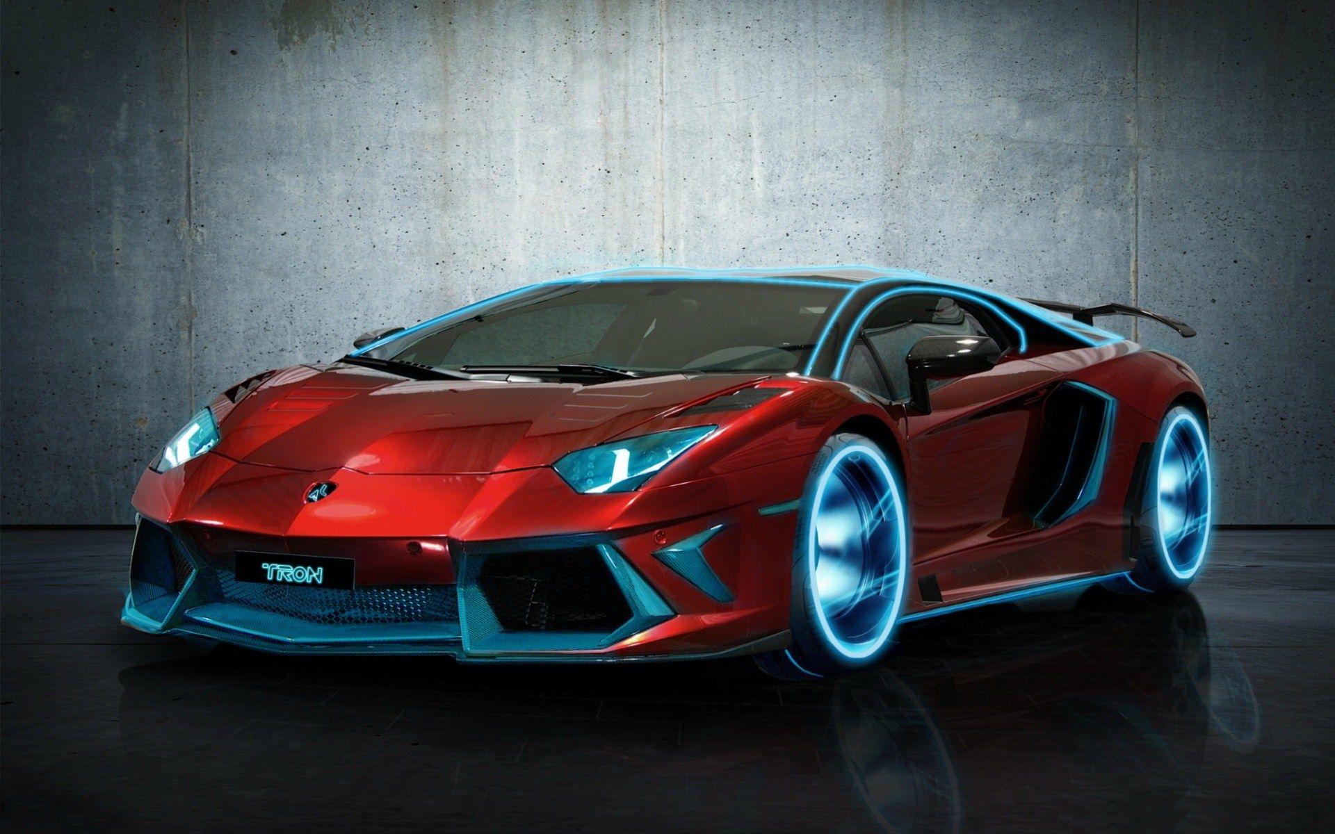 Red Modified Lamborghini | Wallpaper JPEG