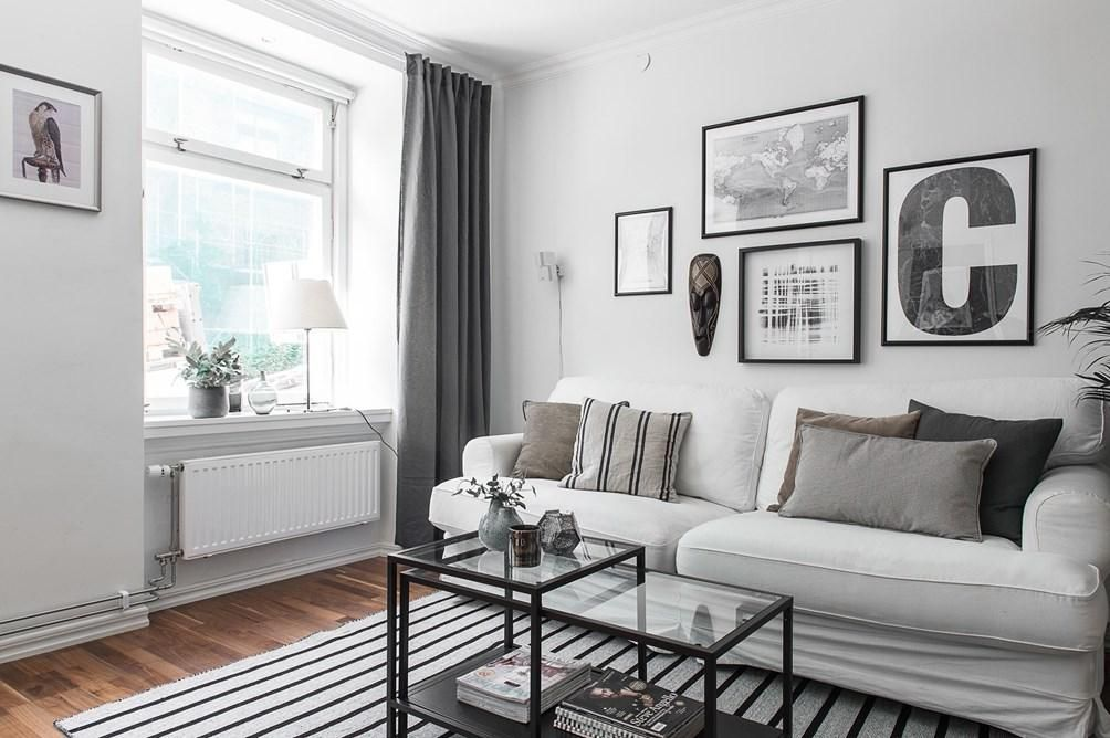 Un apartamento con toques grises   Decoración   RED facilisimo ...