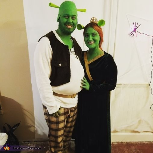 Fiona and Shrek - Halloween Costume Contest at Costume-Works.com  sc 1 st  Pinterest & Fiona and Shrek - Halloween Costume Contest at Costume-Works.com ...
