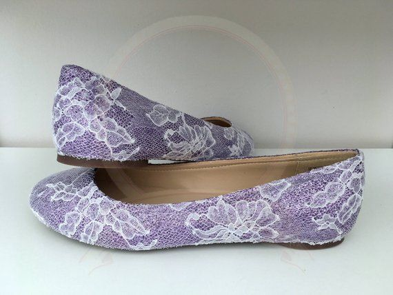 93f36633f8b8 Gorgeous lilac glitter and white lace flats ballerina pumps... I can create glitter  shoes in any colour on most styles of shoe. I even custom mix glitter ...
