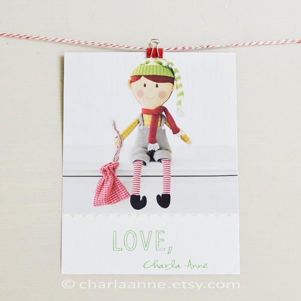 elf doll pdf pattern/tutorial. $19.50, via Etsy. | Merry Christmas ...