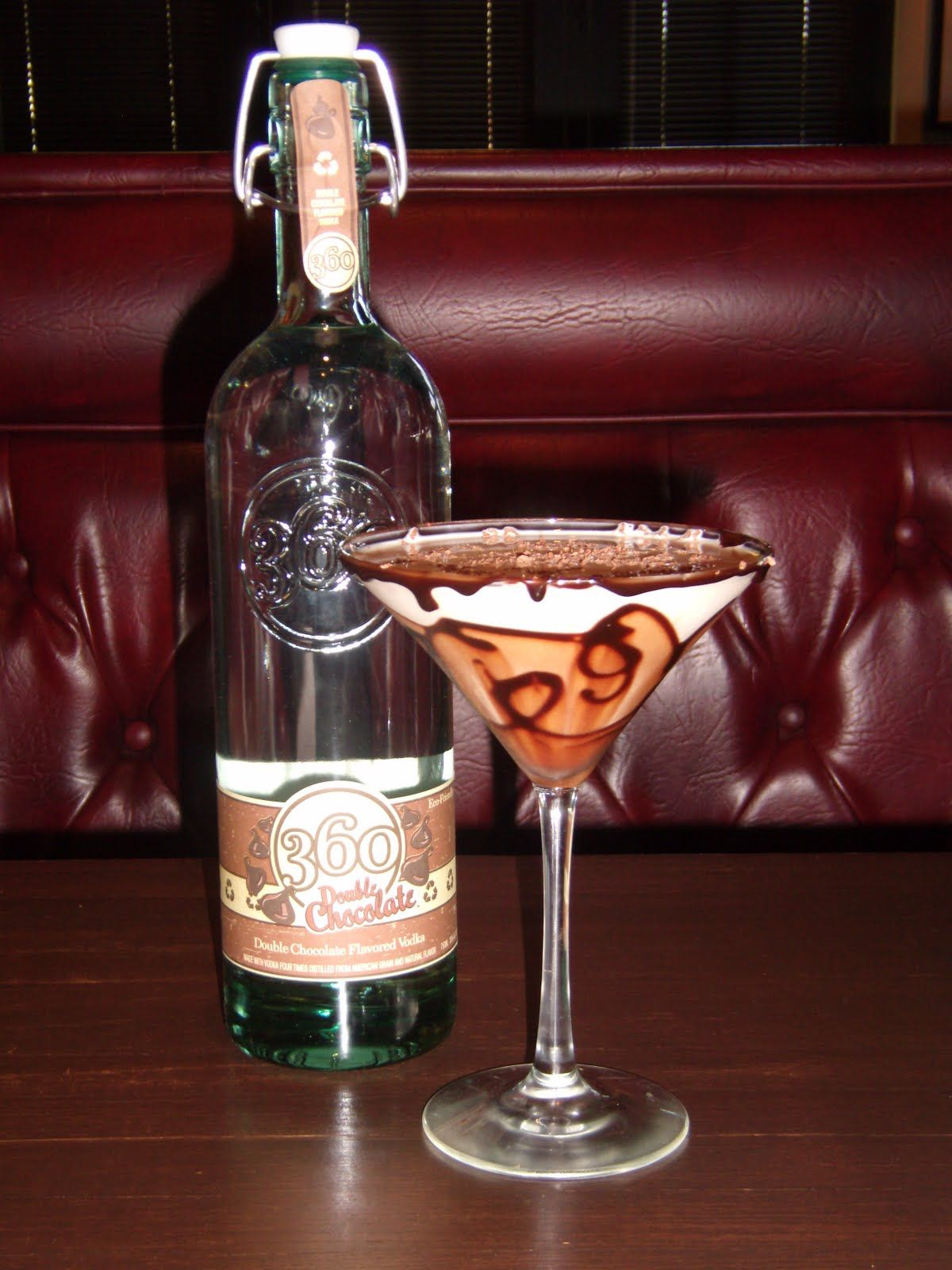 360 Double Chocolate vodka - my new favorite. Mix with cream soda ...