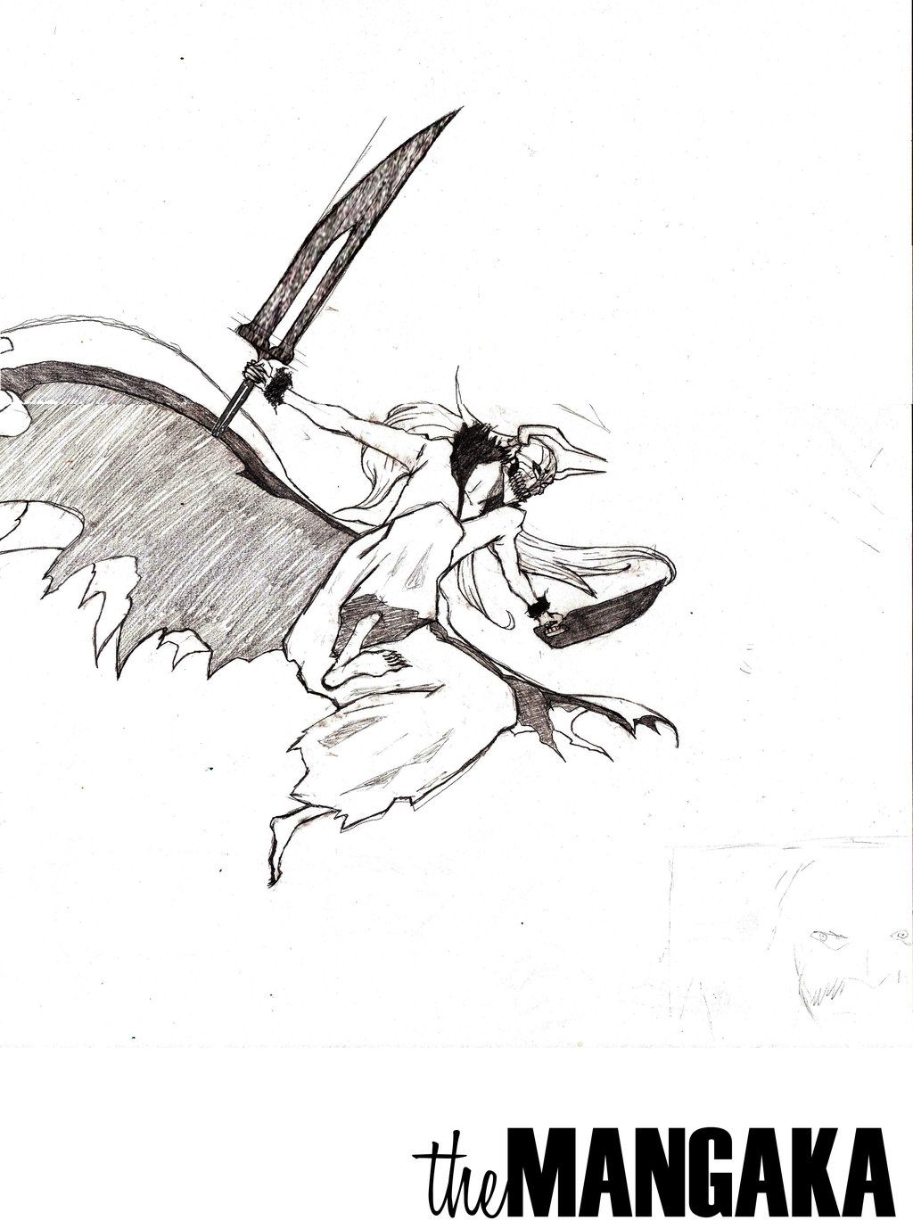 The Blade Is Hollow (Sketch) by MangakaOfficial.deviantart.com on @deviantART