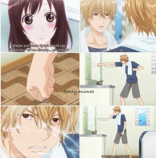 Ookami Shoujo To Kuro Ouji Kyouya Attempting To Say I Love You Anime Wolf Girl Anime Romance Wolf Girl