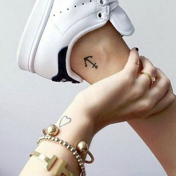 Too many connections-#angeltatto #connections #forearmtatto #matchingtatto #necktatto #sistertatto #skulltatto #tattoart #tattovrouw- Get out of your boots! We show you the most beautiful foot tattoos