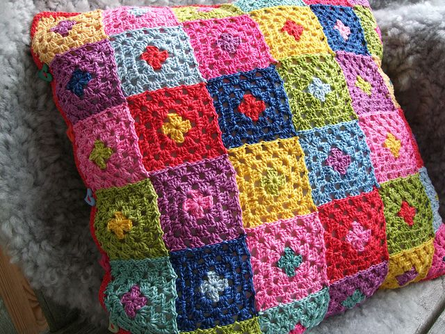 """Cushion cover """"Harlequin"""" by MiA Inspiration, via Flickr"""