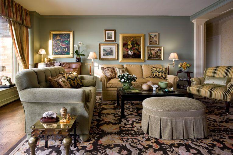 Cozy traditional living room | Decor | Pinterest ...