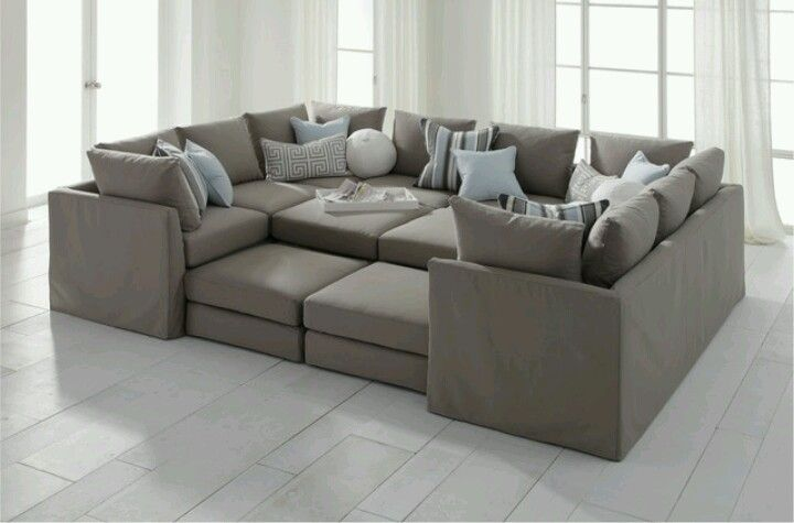 Huge Sofa Sectional Comfy Deep