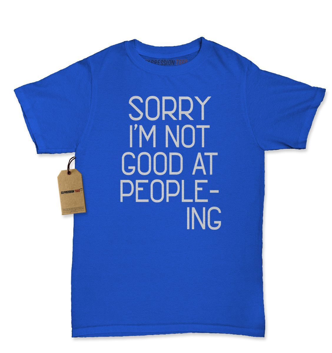 I'm Not Good At Peopleing Womens T-shirt