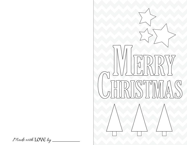 Free Christmas Printables for Kids c h r i s t m a s Pinterest - printable christmas card templates