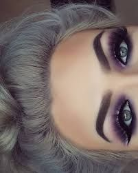 Image result for lavender smokey eye makeup for mature women