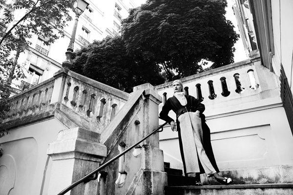 Yulia Terentieva (The Fashionography) by Sofia Zasheva, via Behance, photographed by Djamel Boucly