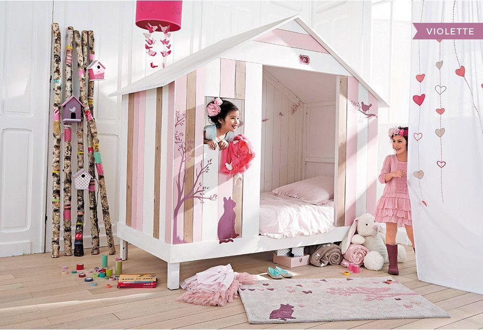Dormitorio De Nina Muebles E Ideas De Decoracion Maisons Du Monde Childrens Bedroom Decor Cabin Beds For Kids Kid Beds