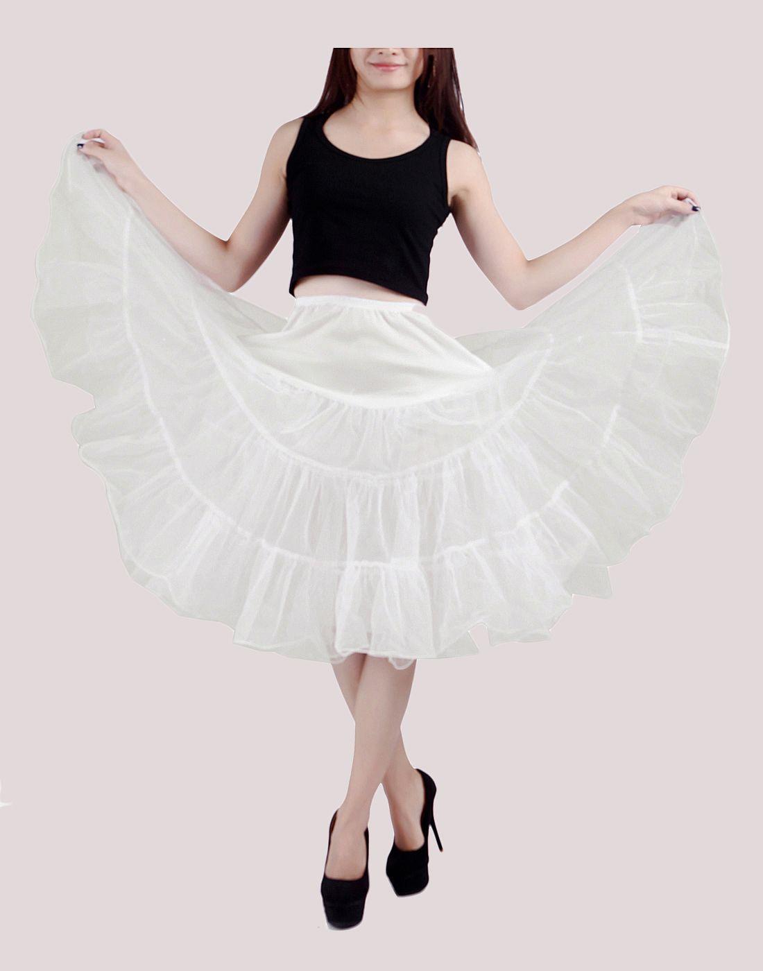 2dc670c548b HDE Women s Petticoat Vintage Slip Rockabilly Swing Dress Underskirt Tutu  Skirt (Large
