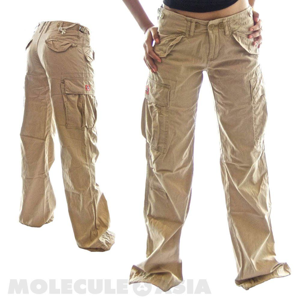 Brilliant Khaki Cargo Pants For Women Images Amp Pictures  Becuo