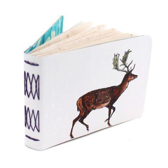 Red Deer Journal - Handbound, Hand Painted Art Book