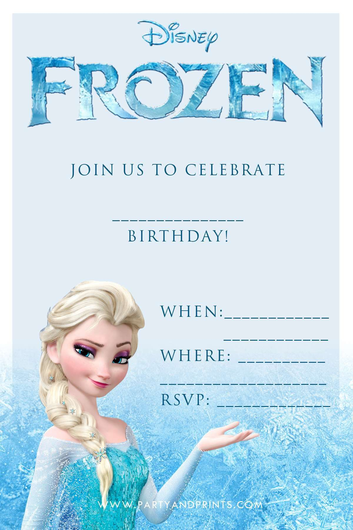 Free Online Birthday Invitations New Card