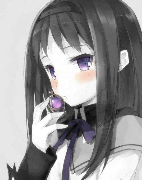 Homura Akemi S Soul Gem Anime Mahō Shōjo Madoka Magica