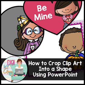 Digi by Amy: PowerPoint Tutorial: How to crop clip art into a shape