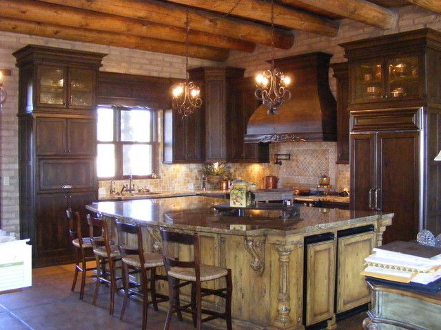 Mediterranean Kitchen Cabinets Rustic And Mediterranean Mediterranean  Kitchen Cabinets Cabinets Style Photo Gallery