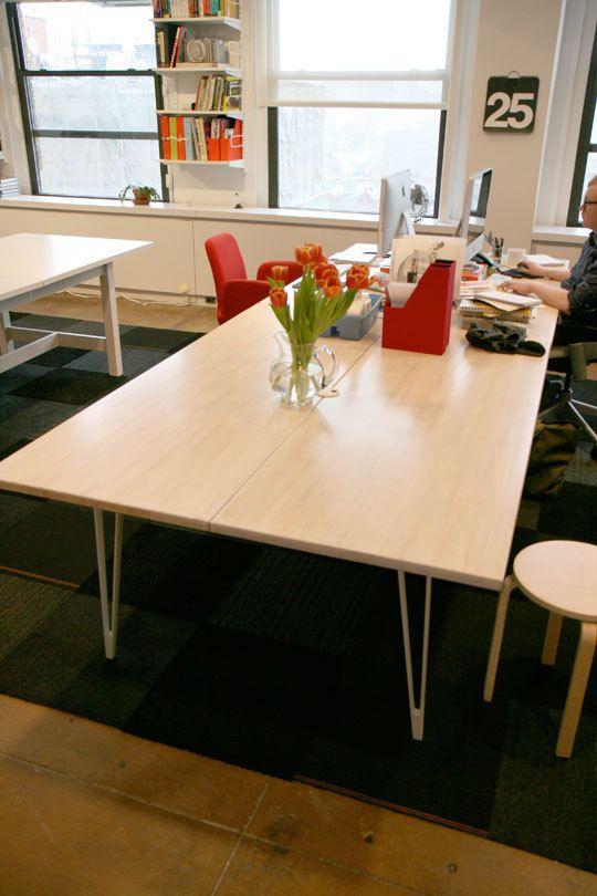 Great Diy Desks With Ikea Countertops And Legs Diy Desk