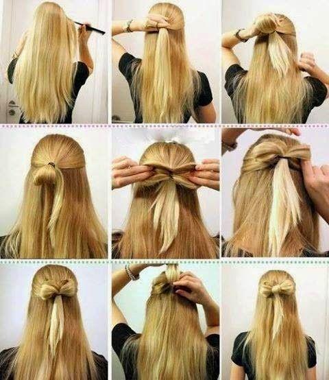 imgenes de peinados sencillos y prcticos muy fcil de hacer paso a paso - Peinados Sencillos Y Faciles