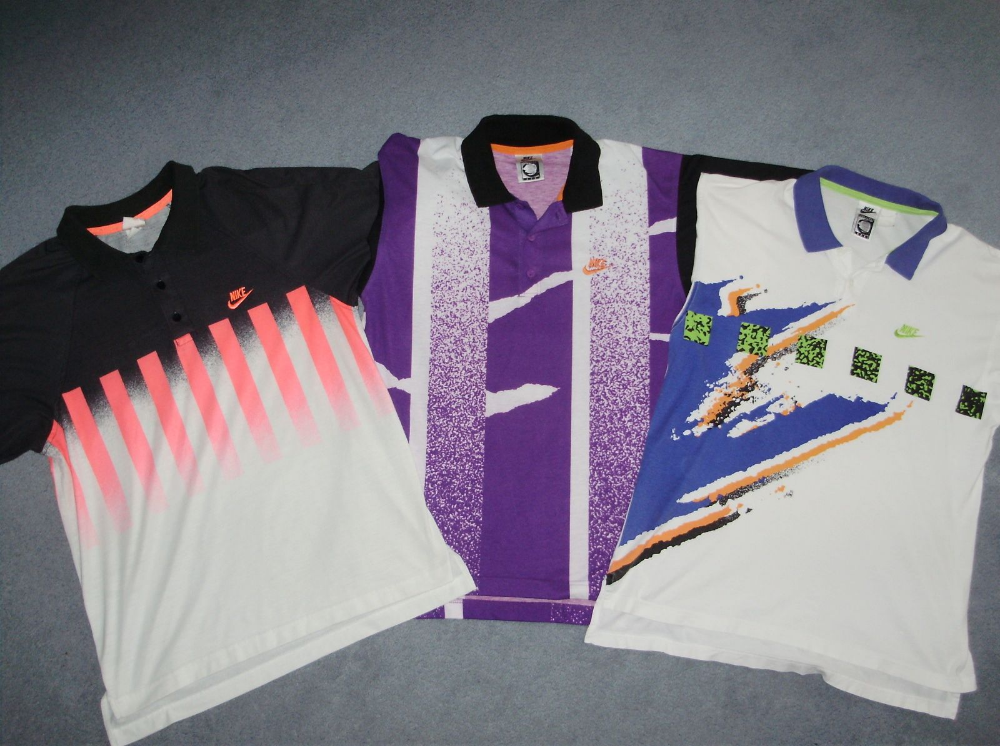 OG Nike Challenge Court Andre Agassi Tennis Polos nel 2020