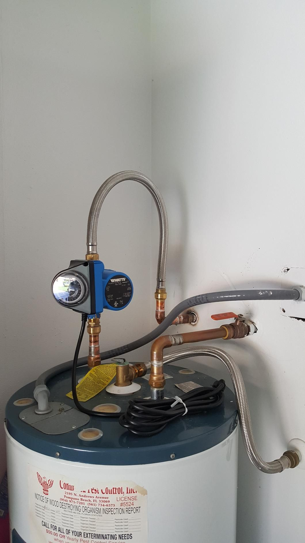 It Is Easy To Install On Any Water System And Requires No Additional Piping Hot Water Recirculating Pump Hot Water Household Hacks